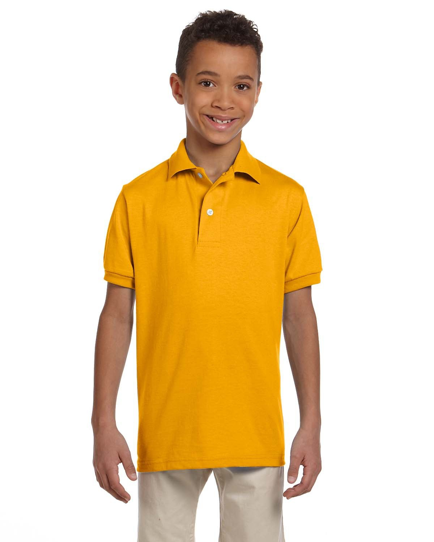 Jerzees Youth SpotShield™ Jersey Polo GOLD