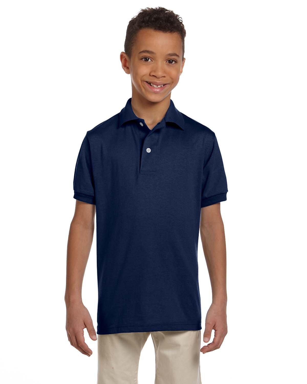 Jerzees Youth SpotShield™ Jersey Polo J NAVY