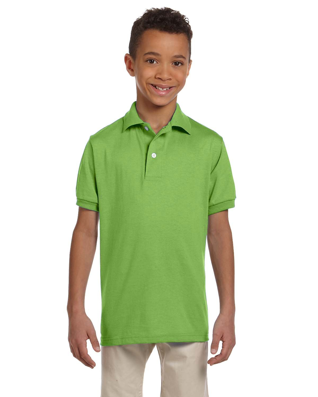 Jerzees Youth SpotShield™ Jersey Polo KIWI