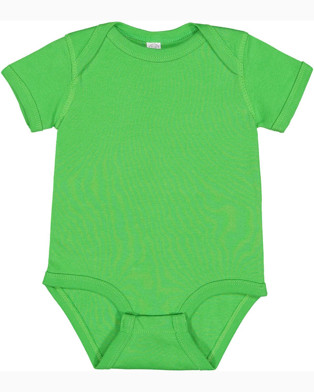 Rabbit Skins Infant Baby Rib Bodysuit APPLE