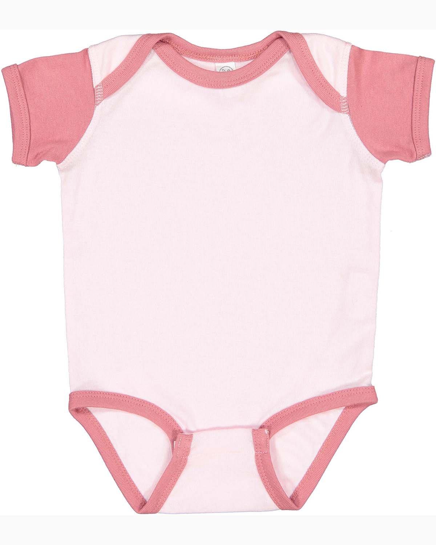 Rabbit Skins Infant Baby Rib Bodysuit BLRNA/ MAUVELOUS