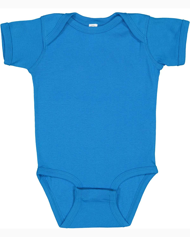 Rabbit Skins Infant Baby Rib Bodysuit COBALT
