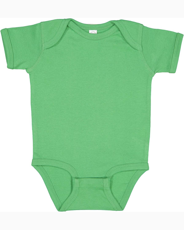 Rabbit Skins Infant Baby Rib Bodysuit GRASS