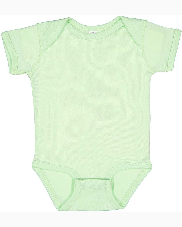 Rabbit Skins Infant Baby Rib Bodysuit MINT