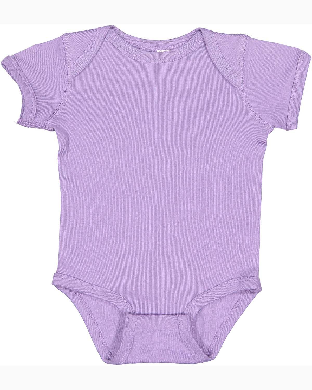 Rabbit Skins Infant Baby Rib Bodysuit LAVENDER