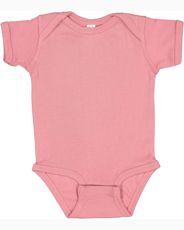 Rabbit Skins Infant Baby Rib Bodysuit MAUVELOUS