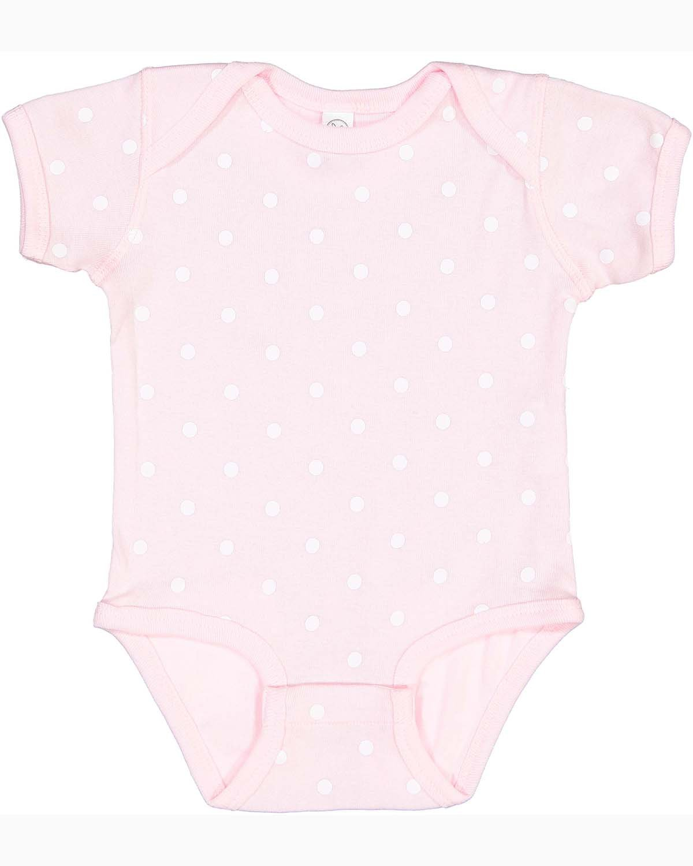 Rabbit Skins Infant Baby Rib Bodysuit BALLERINA/ WH DT