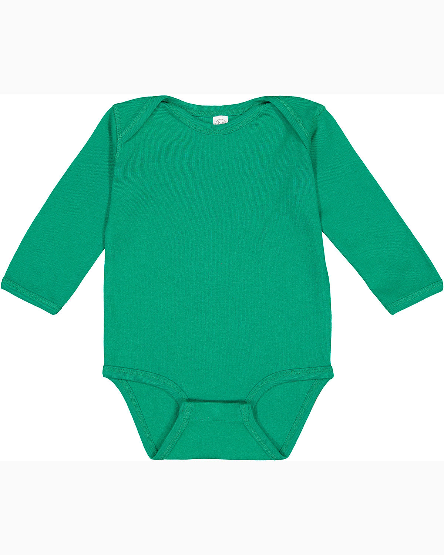 Rabbit Skins Infant Long-Sleeve Baby Rib Bodysuit KELLY