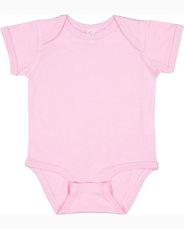Rabbit Skins Infant Fine Jersey Bodysuit PINK