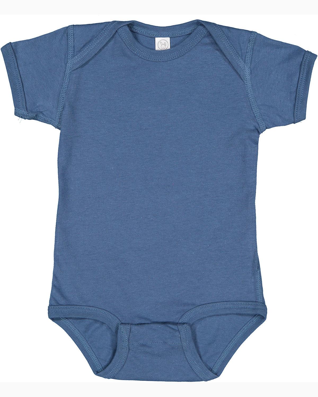 Rabbit Skins Infant Fine Jersey Bodysuit INDIGO