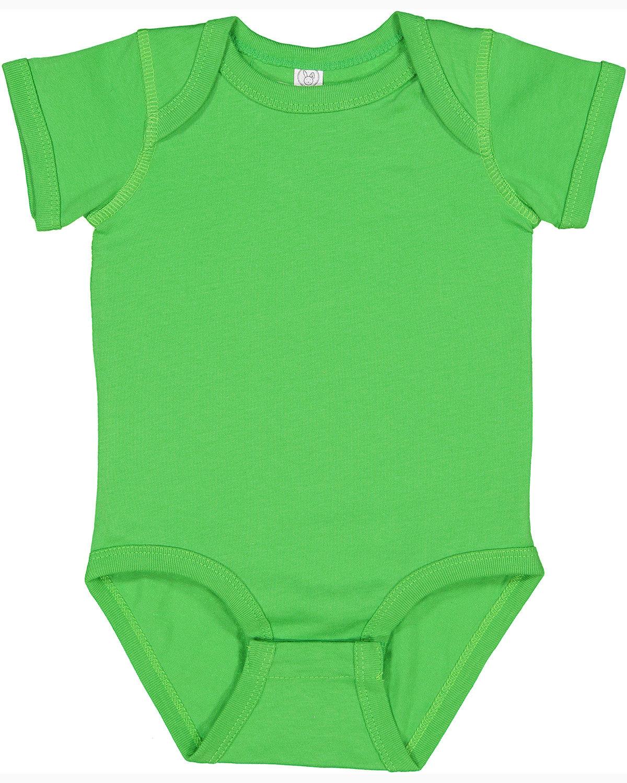 Rabbit Skins Infant Fine Jersey Bodysuit APPLE