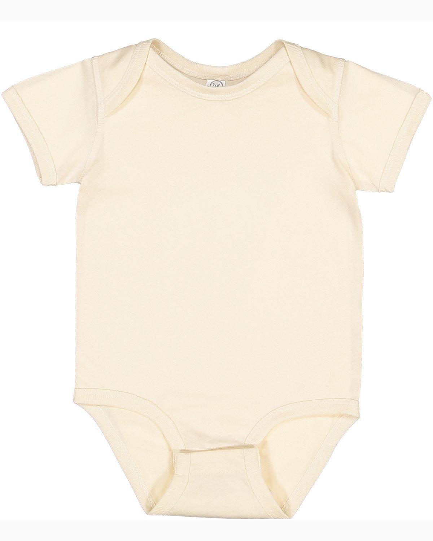 Rabbit Skins Infant Fine Jersey Bodysuit NATURAL
