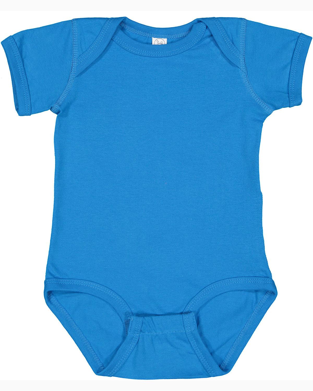 Rabbit Skins Infant Fine Jersey Bodysuit COBALT