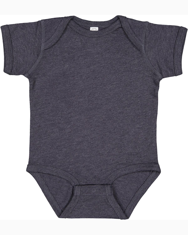 Rabbit Skins Infant Fine Jersey Bodysuit VINTAGE NAVY