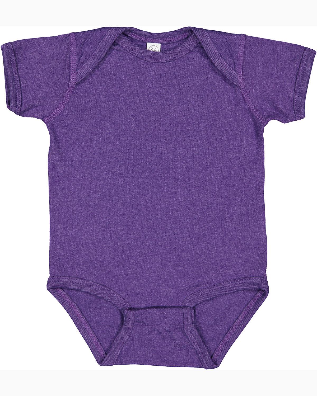 Rabbit Skins Infant Fine Jersey Bodysuit VINTAGE PURPLE