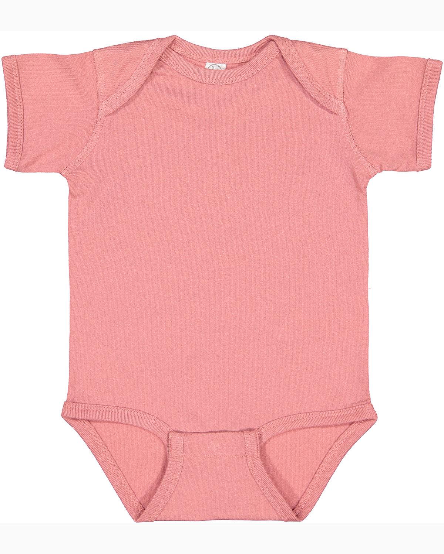 Rabbit Skins Infant Fine Jersey Bodysuit MAUVELOUS