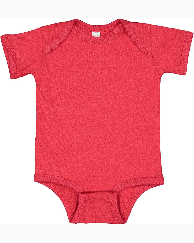 Rabbit Skins Infant Fine Jersey Bodysuit VINTAGE RED