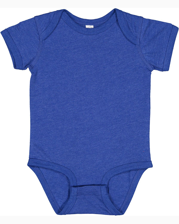 Rabbit Skins Infant Fine Jersey Bodysuit VINTAGE ROYAL