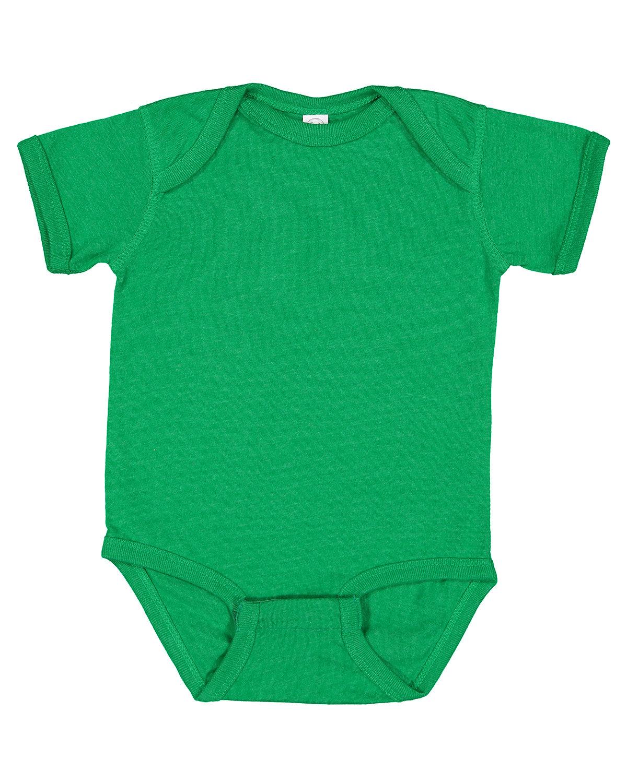 Rabbit Skins Infant Fine Jersey Bodysuit VINTAGE GREEN