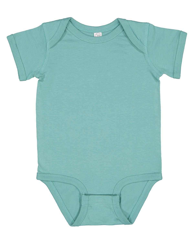 Rabbit Skins Infant Fine Jersey Bodysuit SALTWATER