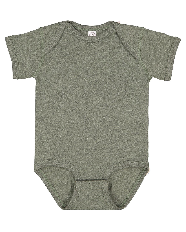 Rabbit Skins Infant Fine Jersey Bodysuit BAMBOO BLACKOUT