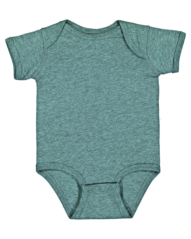 Rabbit Skins Infant Fine Jersey Bodysuit ICE BLACKOUT