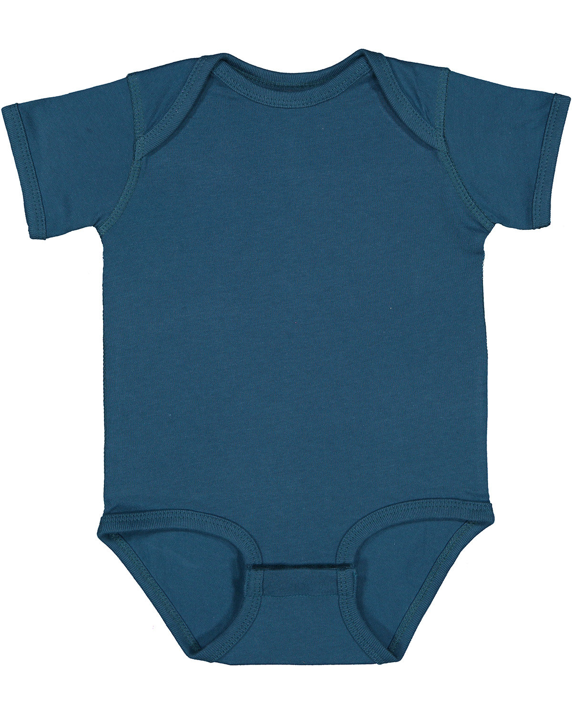 Rabbit Skins Infant Fine Jersey Bodysuit OCEANSIDE