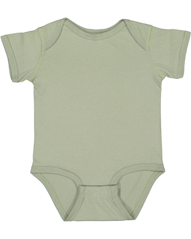 Rabbit Skins Infant Fine Jersey Bodysuit SAGE