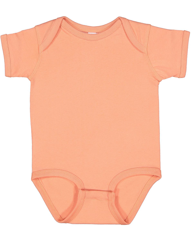 Rabbit Skins Infant Fine Jersey Bodysuit SUNSET