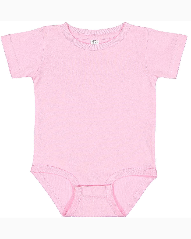 Rabbit Skins Infant Premium Jersey Bodysuit PINK