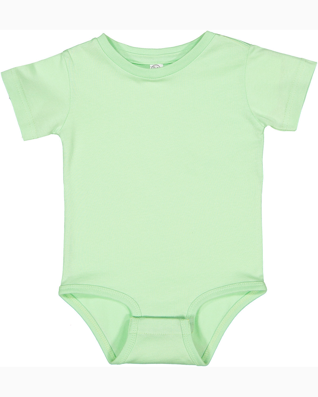 Rabbit Skins Infant Premium Jersey Bodysuit MINT