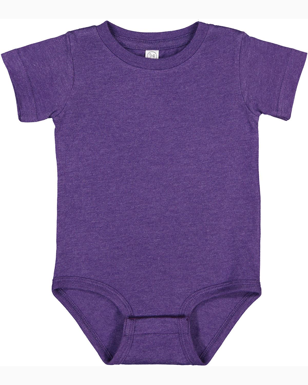 Rabbit Skins Infant Premium Jersey Bodysuit VINTAGE PURPLE