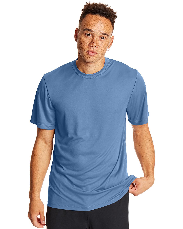 Hanes Adult Cool DRI® with FreshIQ T-Shirt LIGHT BLUE