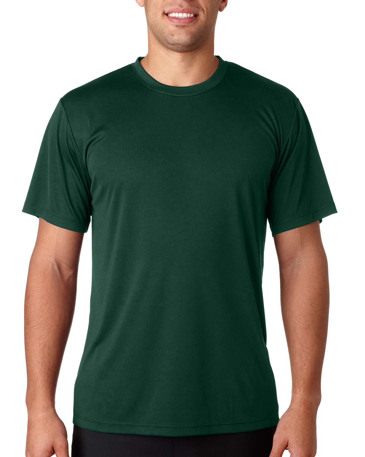 Hanes Adult Cool DRI® with FreshIQ T-Shirt DEEP FOREST
