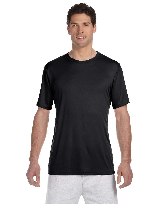 Hanes Adult Cool DRI® with FreshIQ T-Shirt BLACK