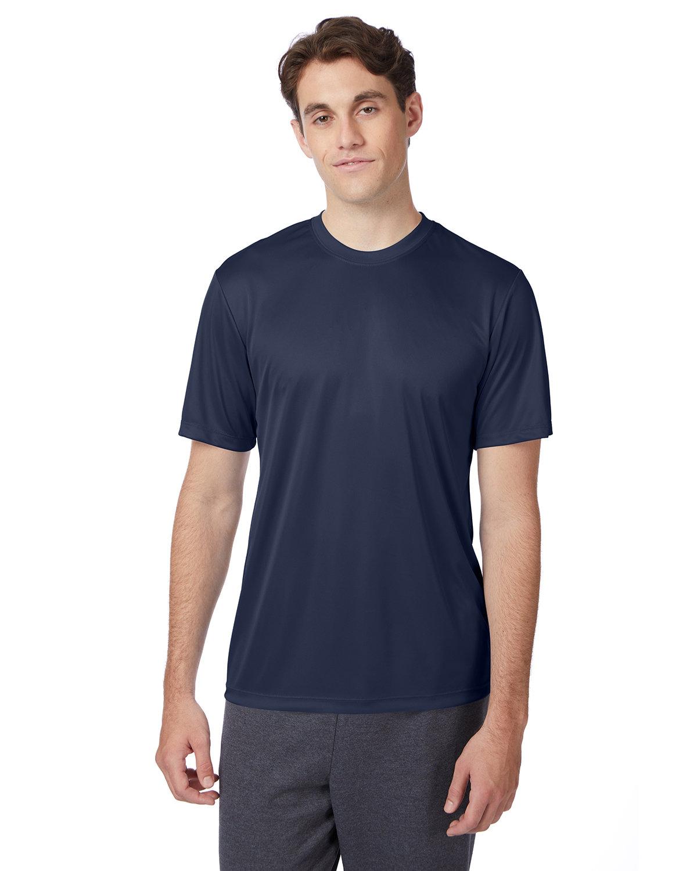 Hanes Adult Cool DRI® with FreshIQ T-Shirt NAVY
