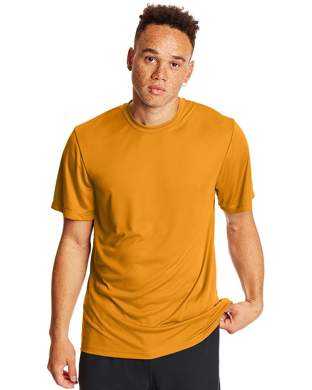 Hanes Adult Cool DRI® with FreshIQ T-Shirt GOLD