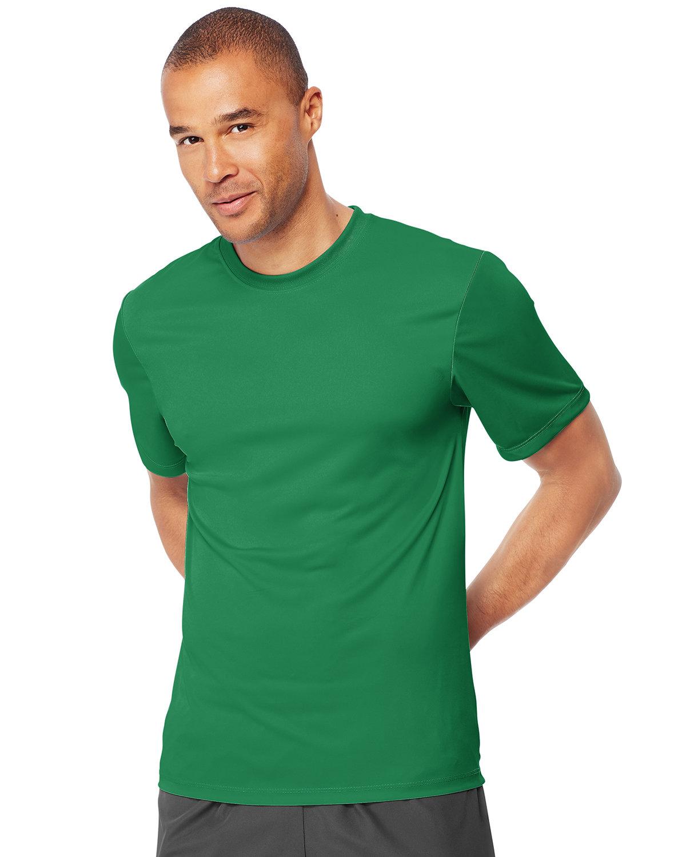 Hanes Adult Cool DRI® with FreshIQ T-Shirt KELLY GREEN