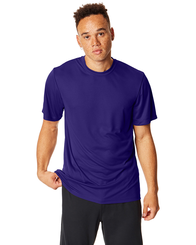 Hanes Adult Cool DRI® with FreshIQ T-Shirt PURPLE