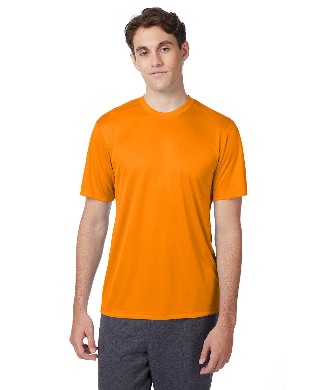 Hanes Adult Cool DRI® with FreshIQ T-Shirt SAFETY ORANGE