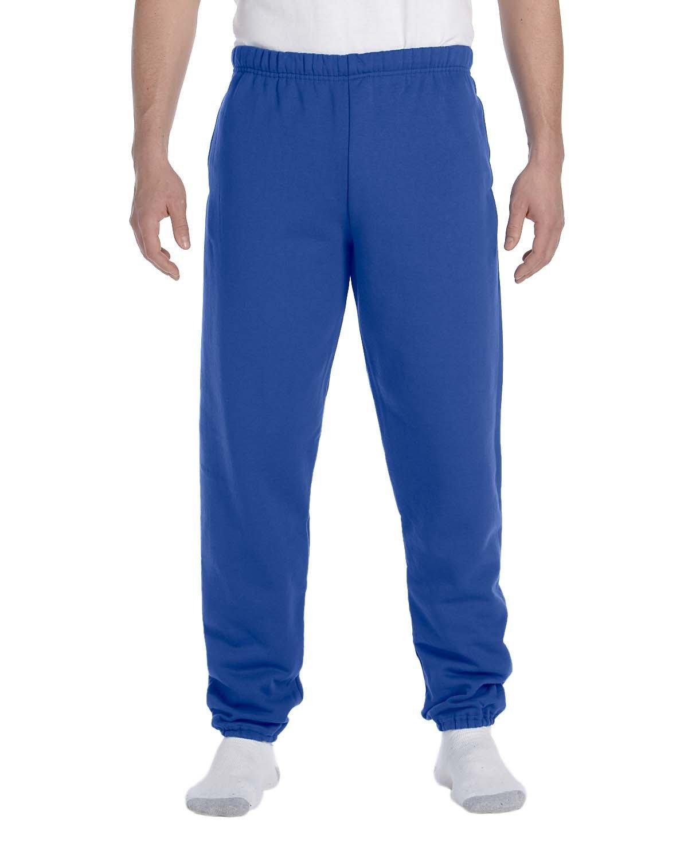 Jerzees Adult Super Sweats® NuBlend® Fleece Pocketed Sweatpants ROYAL