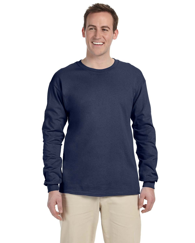 Fruit of the Loom Adult HD Cotton™ Long-Sleeve T-Shirt DENIM