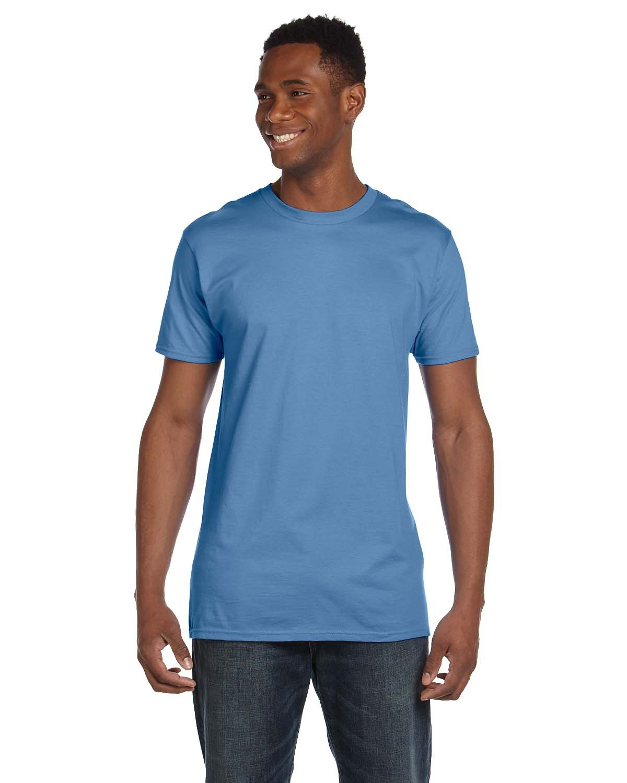 Hanes Unisex Nano-T® T-Shirt CAROLINA BLUE