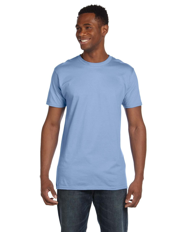 Hanes Unisex Nano-T® T-Shirt LIGHT BLUE