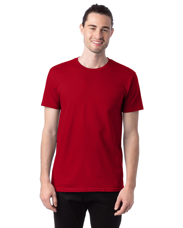 Hanes Unisex Nano-T® T-Shirt DEEP RED
