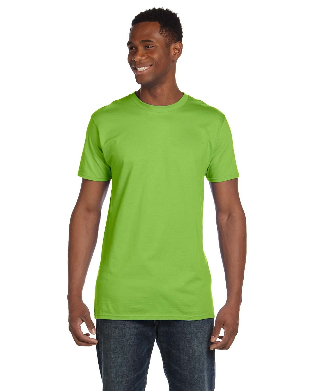 Hanes Unisex Nano-T® T-Shirt LIME