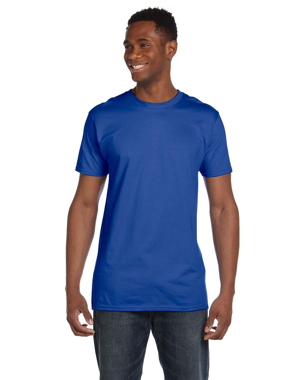 Hanes Unisex Nano-T® T-Shirt DEEP ROYAL