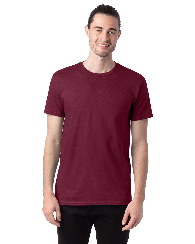 Hanes Unisex Nano-T® T-Shirt MAROON