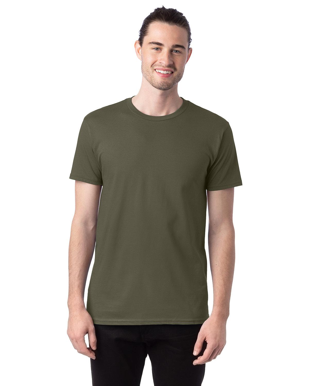 Hanes Unisex Nano-T® T-Shirt FATIGUE GREEN