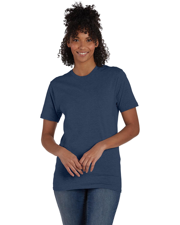 Hanes Unisex Nano-T® T-Shirt HEATHER NAVY